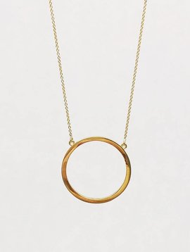 Jennifer Meyer Jennifer Meyer Open Circle Necklace