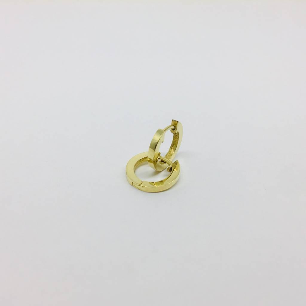 Jennifer Meyer Jennifer Meyer Gold Huggies Earrings