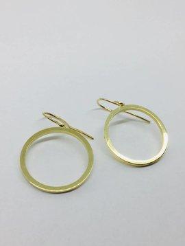 Jennifer Meyer Jennifer Meyer Large Open Circle Earrings