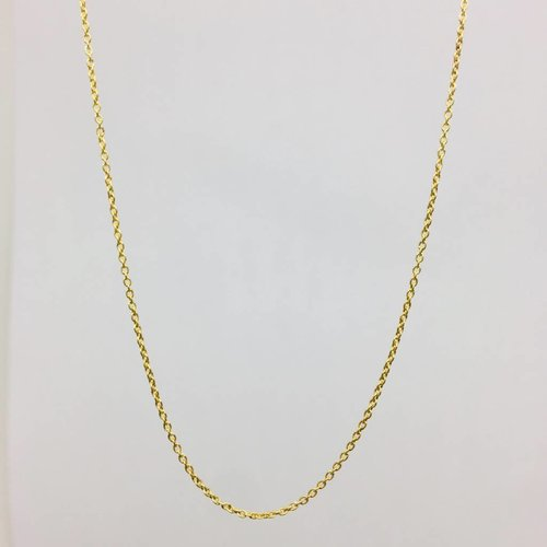 "Lotasi 16"" 14k Yellow Gold Chain"