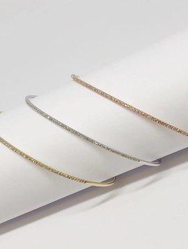 Majolie Thin Diamond Bangle Bracelet