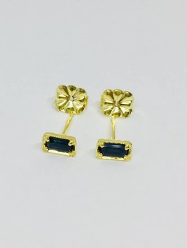 ILA Blue Sapphire Earring Studs