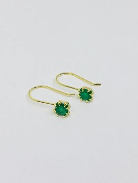 ILA Emerald Drop Earrings