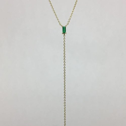 ILA Emerald and Diamond Necklace