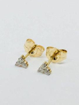 Adina Reyter Super Tiny Diamond Cluster Posts