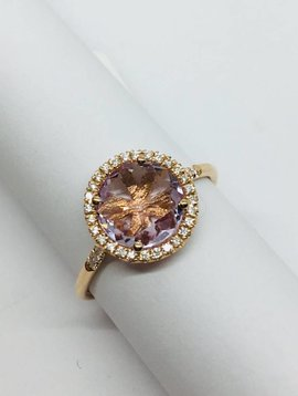 Suzanne Kalan Rose Gold and Rose de France Ring