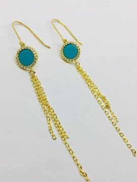 Nyla Star Romie Tassel Earrings