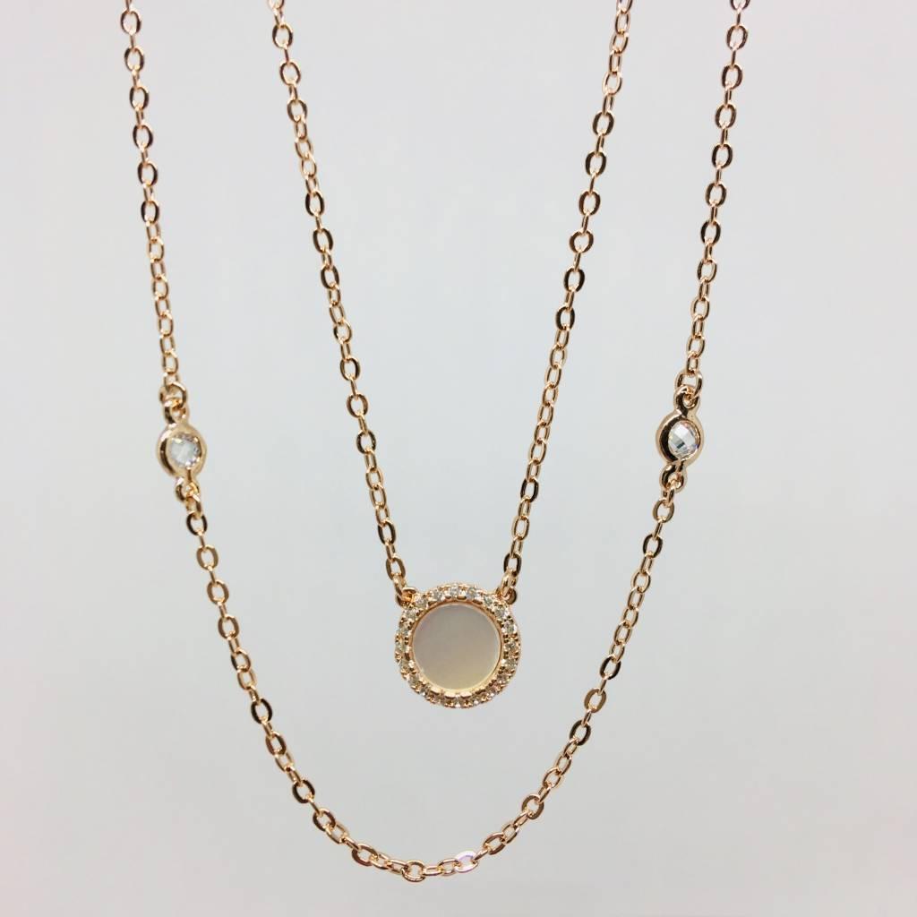 Nyla Star Romie Double Necklace