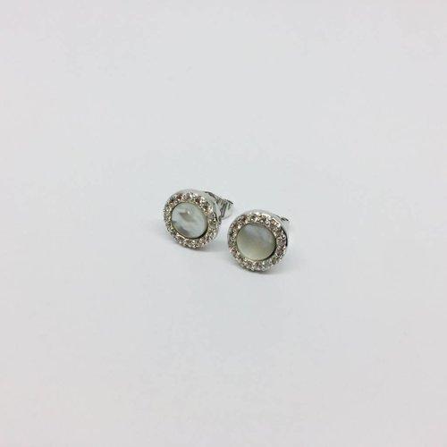 Nyla Star Romie Small Disc Earrings