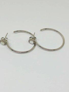 Nyla Star Romie Hoop Earrings