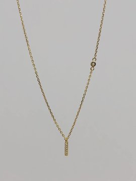 Tai Gold Stick Necklace