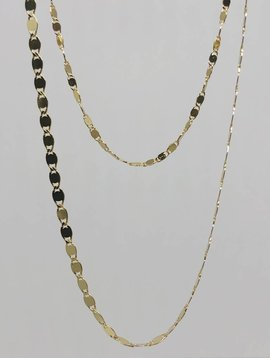 Tai Gold Layered Chain Necklace