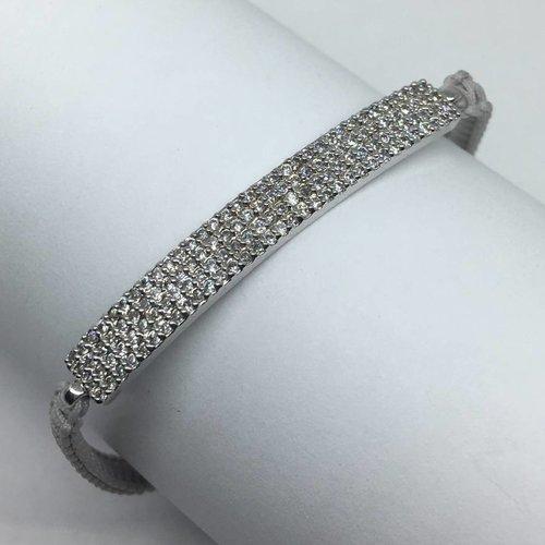 Tai Grey Bar Bracelet