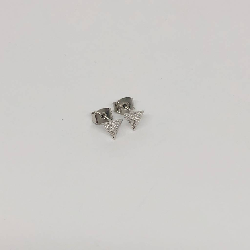 Tai Triangle Pyramid Studs