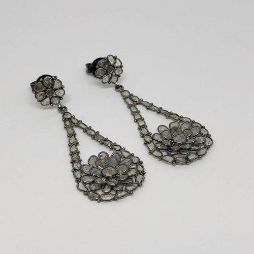 Kat Designs Diamond Slice Earrings