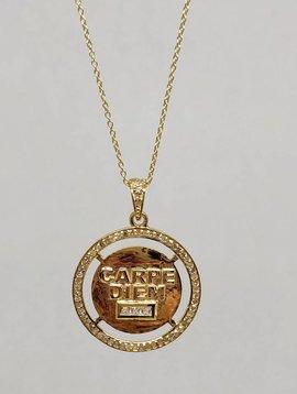 """Lotasi """"Carpe Diem"""" Necklace"""
