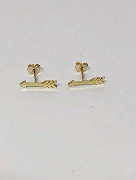 Jennifer Meyer Jennifer Meyer Mini Arrow Earrings