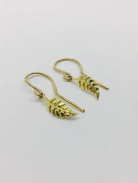 Jennifer Meyer Jennifer Meyer Leaf Earrings