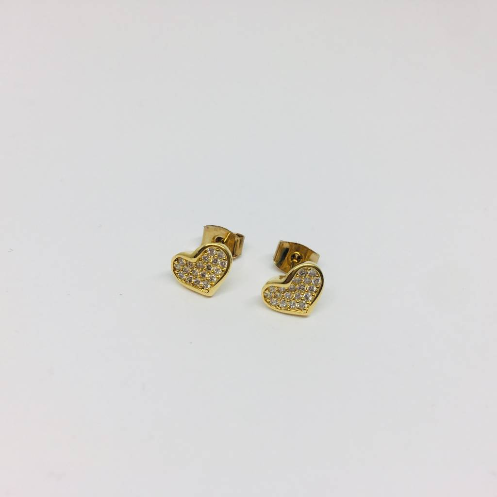 Tai Plated Heart Earring