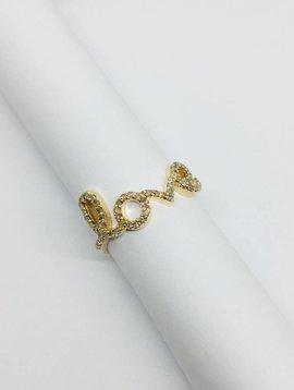 Lotasi Large Pave Love Ring