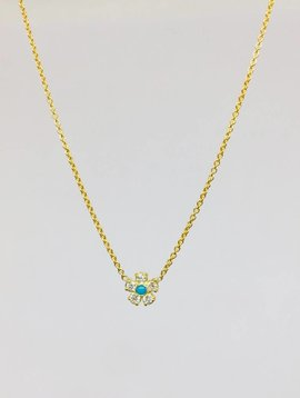 Jennifer Meyer Jennifer Meyer Diamond Flower Necklace