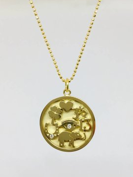 Jennifer Meyer Jennifer Meyer Good Luck Necklace