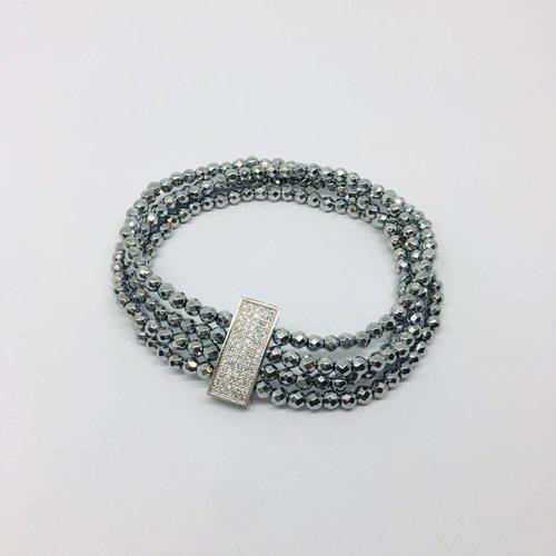 Kat Designs Pave Bar Bracelet