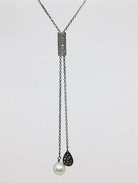 Kat Designs Diamond Bar Slider Lariat