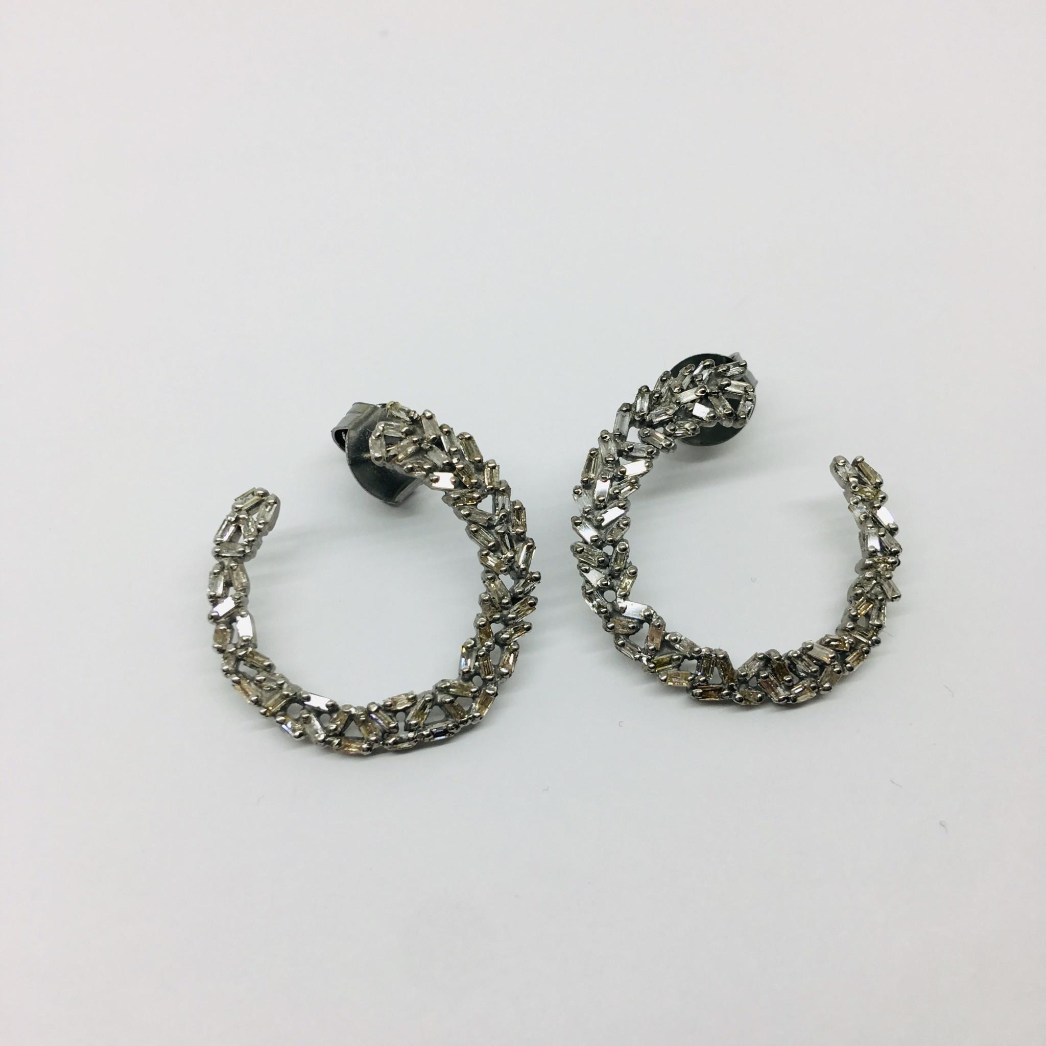 Lotasi Diamond Wrap Earrings