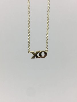 Jennifer Meyer XO Necklace