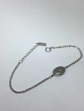 Lera Jewels Diamond Chicklet Bracelet