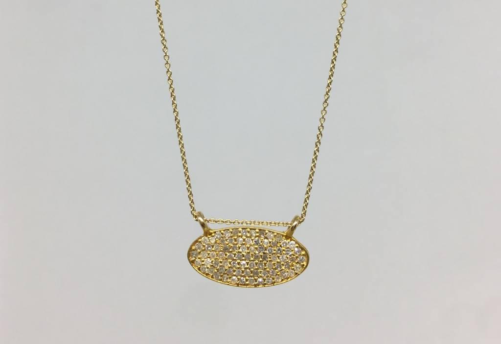 Lera Jewels Mini oval Necklace