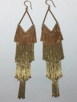 Marie-Laure Chamorel Graduated Earrings