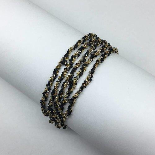 Marie-Laure Chamorel Convertabile necklace/ bracelet chain