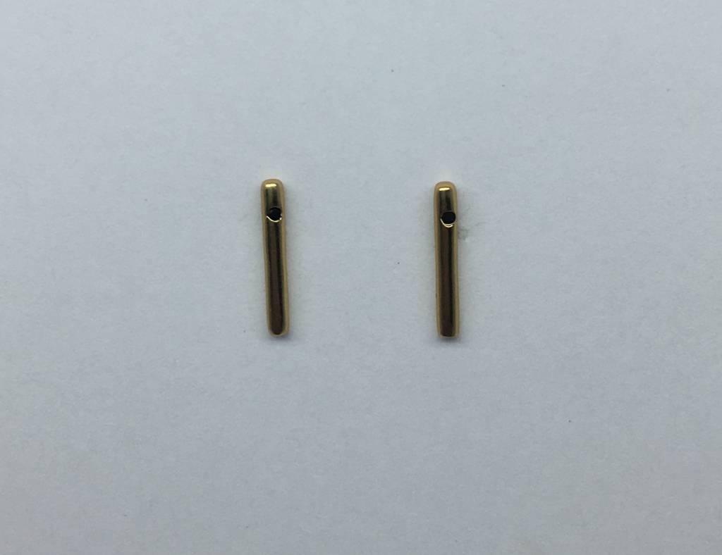 Tai Gold Plated Stick Studs