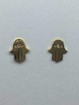 Tai Gold Hamsa Earrings