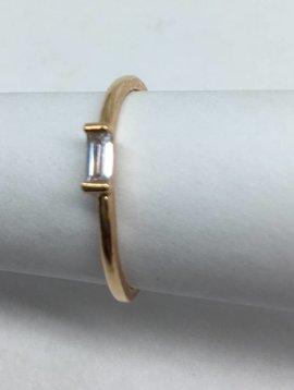 Cloverpost Baguette Stacker Ring