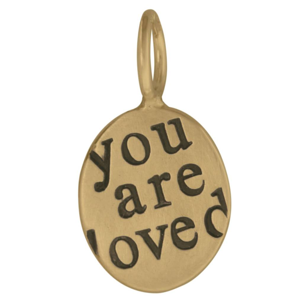 """Heather B. Moore Online """"You are loved"""" Charm"""