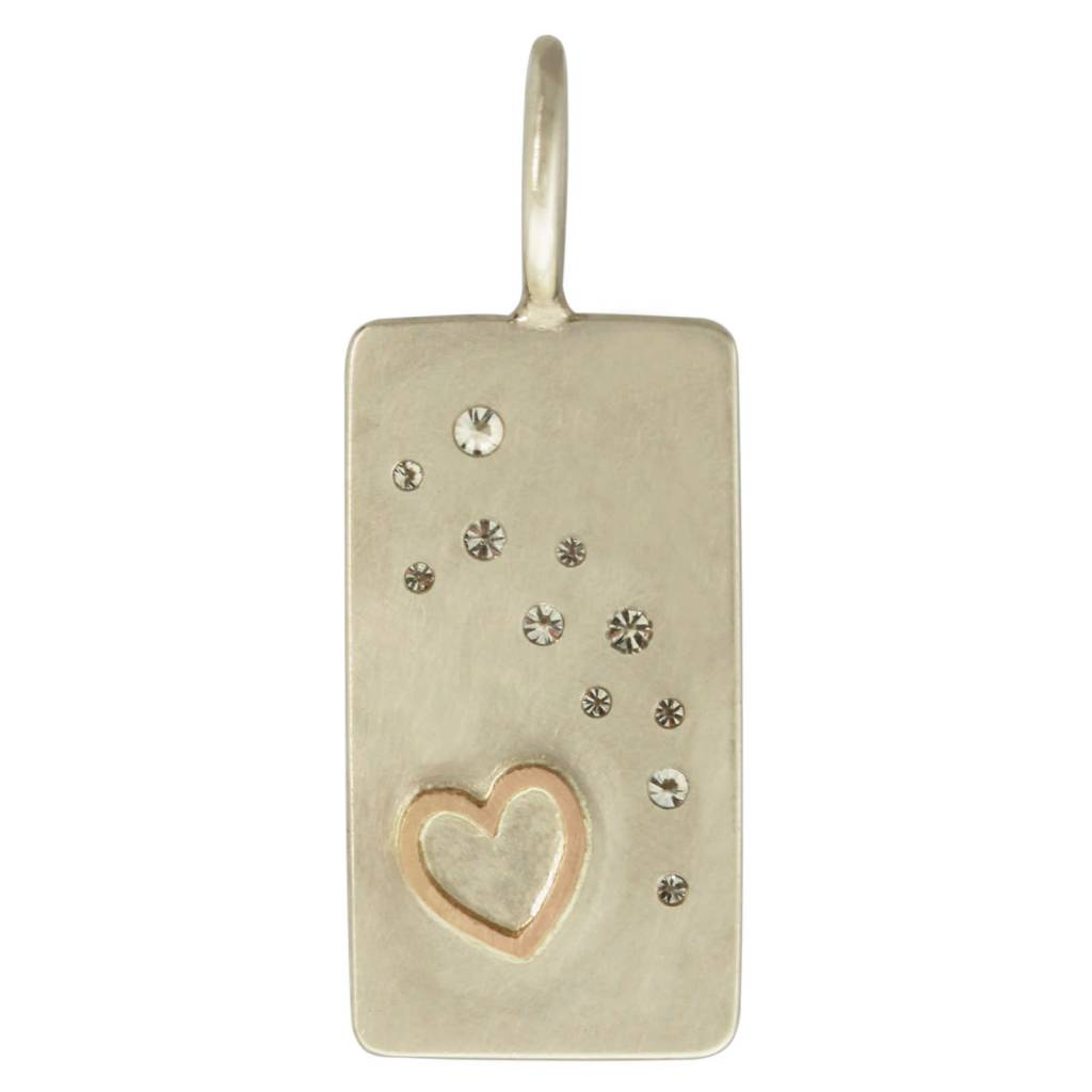 """Heather B. Moore Online """"At Last"""" Scattered Diamond Charm"""
