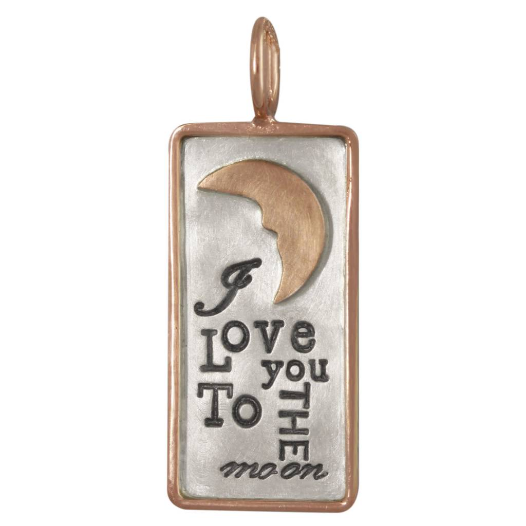"Heather B. Moore Online ""To the moon"" Charm"