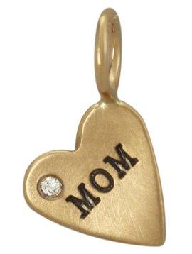 "Heather B. Moore Online ""Mom"" Heart Charm"
