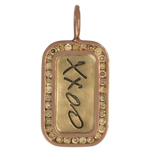 "Heather B. Moore Online ""XXOO"" Charm"