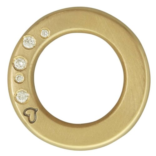 Heather B. Moore Online Thick Open Circle Charm