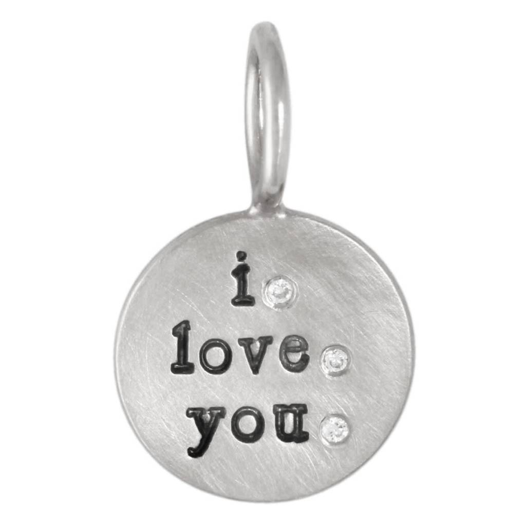 """Heather B. Moore Online """"I Love You"""" Charm"""
