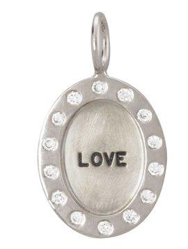"Heather B. Moore Online ""Love"" Charm"
