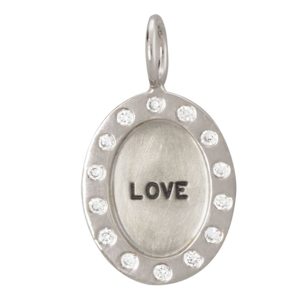 "Heather B. Moore Online ""Love"" Charm"