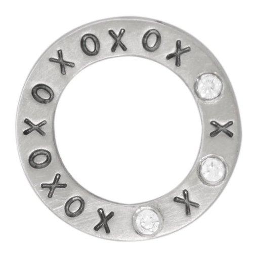 """Heather B. Moore Online """"XOXO"""" Eternity Charm"""
