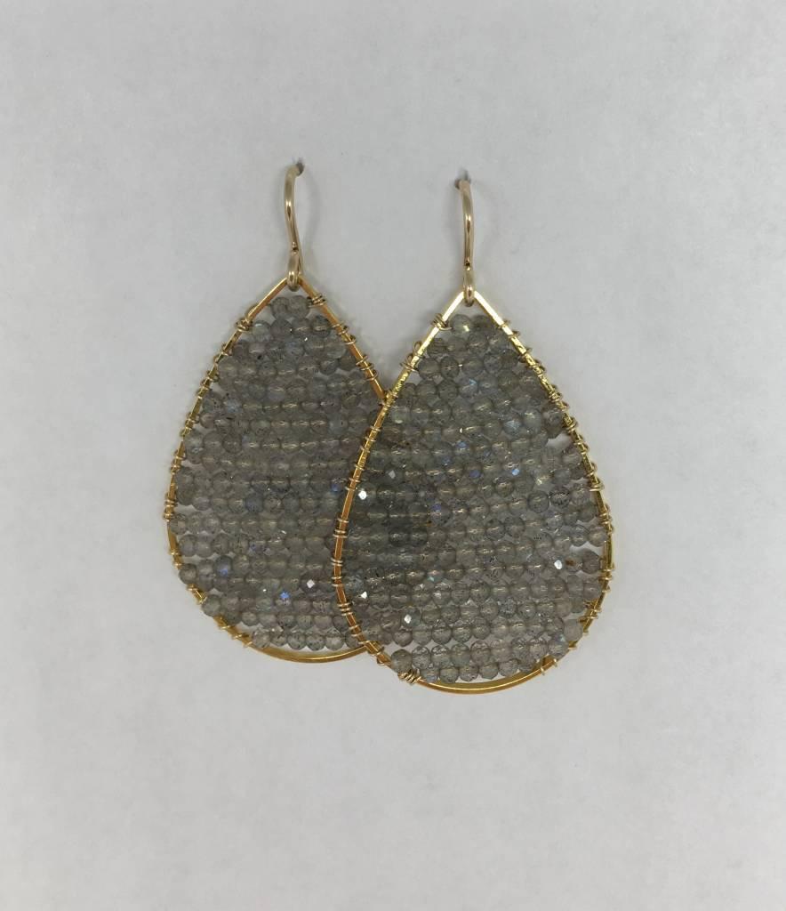 SonyaRenee Labradorite Posh Earrings