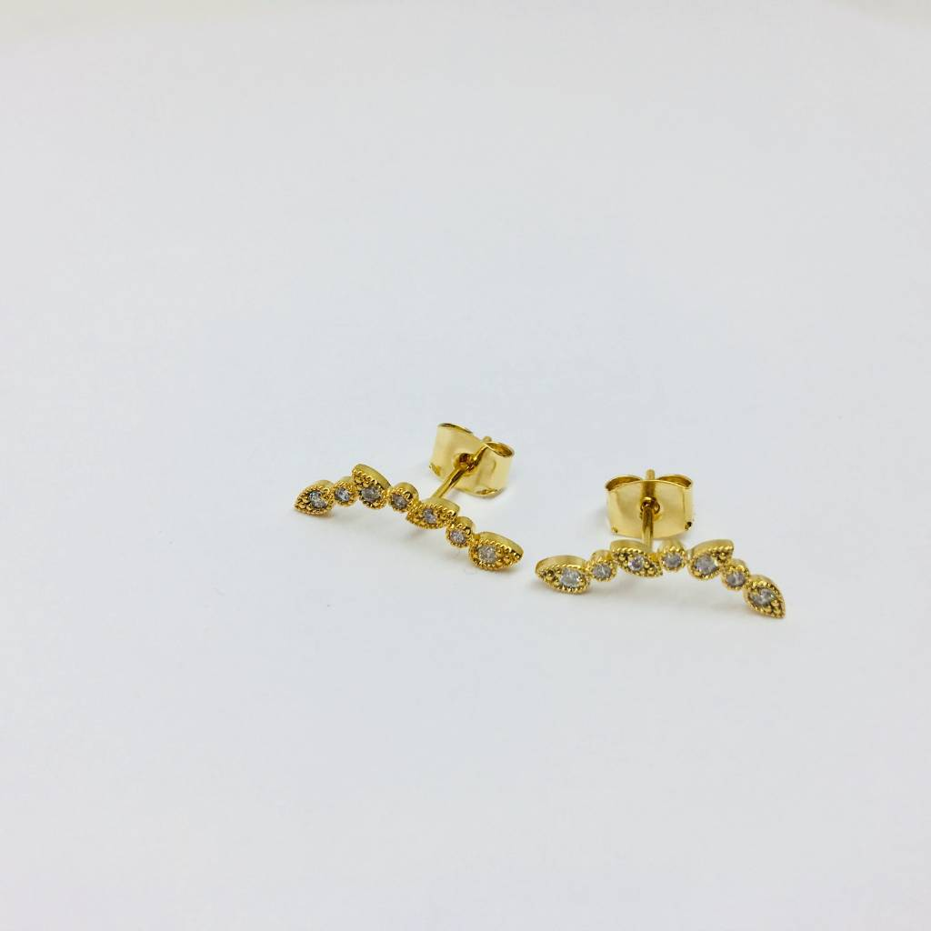 Tai Gold Teardrop Crawlers