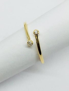 Dana Rebecca Wrap Around Stacking Ring